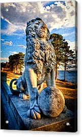 Acrylic Print featuring the photograph Lion's Bridge by Williams-Cairns Photography LLC