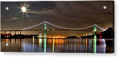 Lions Gate Bridge In Colour Acrylic Print