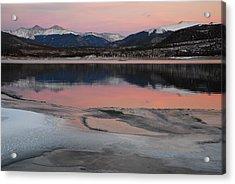 Lipstick Sunset Acrylic Print by Bob Berwyn