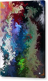 Acrylic Print featuring the photograph Liquid  One by Joel Loftus