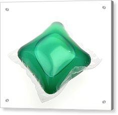 Liquid Washing Tablet Acrylic Print