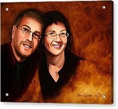 Lisa And Me Acrylic Print