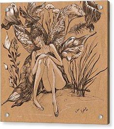 Lisanthius Acrylic Print