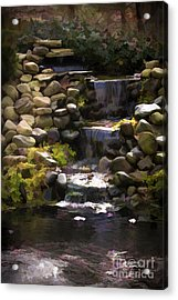 Listen And  Relax Acrylic Print by Cris Hayes