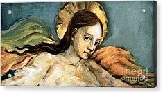 Listening Angel Acrylic Print