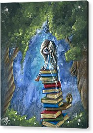 Literary Dream Acrylic Print by Sour Taffy