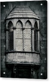 Lattice Castle Window Acrylic Print