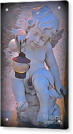 Little Angels Light The Way Acrylic Print by John Malone