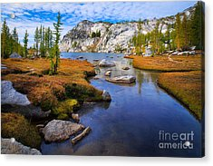 Little Annapurna Acrylic Print by Inge Johnsson