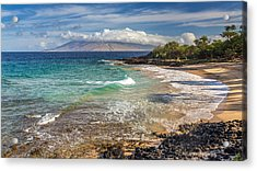 Little Beach Maui Sunrise Acrylic Print