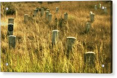 Little Big Horn Gravesite Acrylic Print