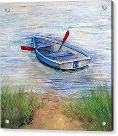 Little Boat Acrylic Print by Loretta Luglio