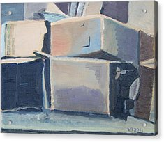 Little Boxes-all The Same?  Acrylic Print