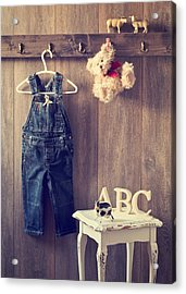 Little Boy's Bedroom Acrylic Print by Amanda Elwell