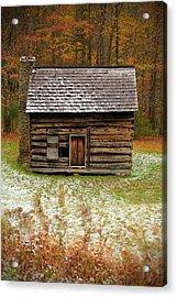 Little Cabin Acrylic Print