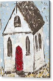 Little Church Acrylic Print by Kirsten Reed