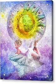 Little Dancer Acrylic Print by Mo T