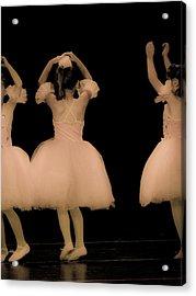 Little Dancers Acrylic Print by Christie Kowalski