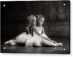 Little Dancers Acrylic Print