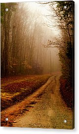 Little Dirt Road Acrylic Print