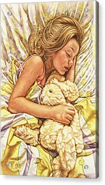 Little Dreamer Acrylic Print