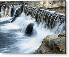 Acrylic Print featuring the photograph Little Falls by Raymond Earley