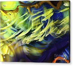 Little Fishes Acrylic Print