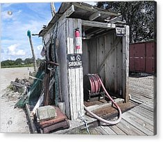 Little Gas Shack Acrylic Print