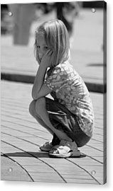 Little Girl Acrylic Print