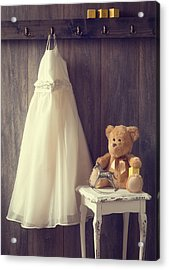 Little Girls Bedroom Acrylic Print by Amanda Elwell