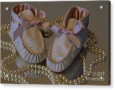 Acrylic Print featuring the photograph Little Girls To Pearls by Sharon Elliott
