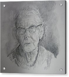 Little Granny Smith Acrylic Print