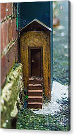Little House Down The Lane  Acrylic Print by Naomi Burgess