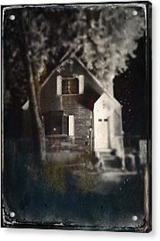 Little House In Maspeth Acrylic Print by H James Hoff