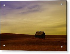 Little House On The Prairie  Acrylic Print by Jeff Swan