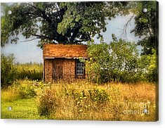 Acrylic Print featuring the photograph Little House On The Prairie by Peggy Franz