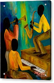 Little Jazz Trio I Acrylic Print