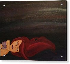 Little Mermaid Acrylic Print by Oasis Tone