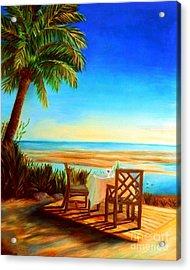 Little Palm Island - Little Torch Key Acrylic Print by Shelia Kempf