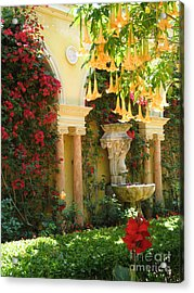 Little Paradise II Acrylic Print by Christiane Schulze Art And Photography