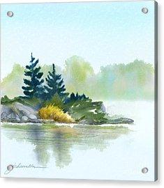 Little Pine Point Acrylic Print