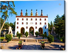 Little Potala Palace In Chengde Acrylic Print by Lanjee Chee