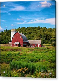 Little Red Barn Acrylic Print