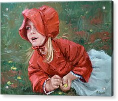 Little Red Ridinghood  Acrylic Print