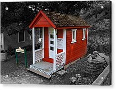 Little Red School House Acrylic Print