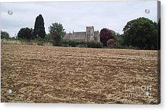Little Rissington Church 2 Acrylic Print by John Williams