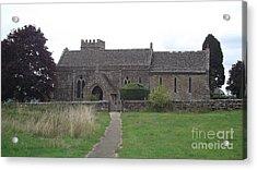 Little Rissington Church Acrylic Print by John Williams