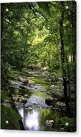 Little River Smoky Mountains Acrylic Print