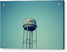 Little River Water Tower Acrylic Print