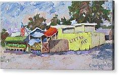 Little Road Farm Market Acrylic Print